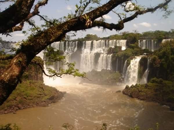 ライター,イグアスの滝